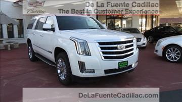 2017 Cadillac Escalade ESV for sale in El Cajon, CA