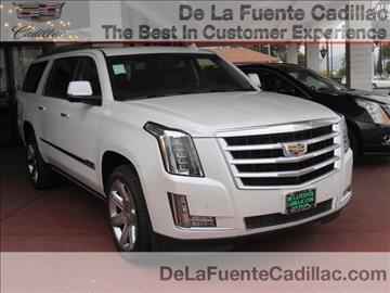 2016 Cadillac Escalade ESV for sale in El Cajon, CA