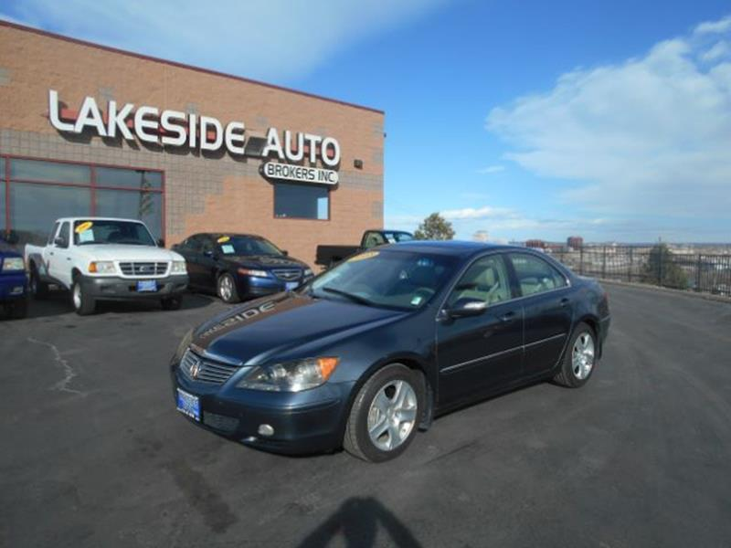 2008 acura rl technology package in colorado springs co lakeside