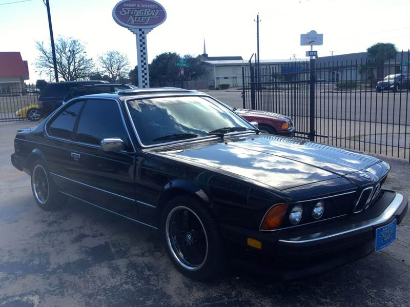 1985 bmw 6 series 633csi 2dr 635csi coupe in corpus. Black Bedroom Furniture Sets. Home Design Ideas