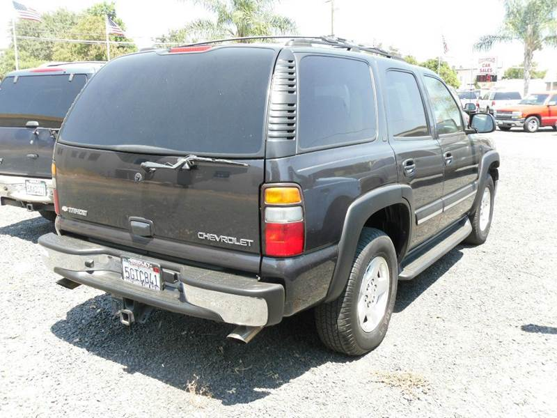 2004 chevrolet tahoe lt 4wd 4dr suv in gridley ca. Black Bedroom Furniture Sets. Home Design Ideas