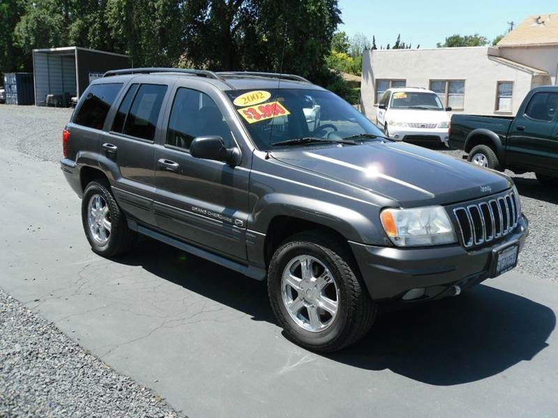 2002 jeep grand cherokee 4dr overland 4wd suv in gridley. Black Bedroom Furniture Sets. Home Design Ideas