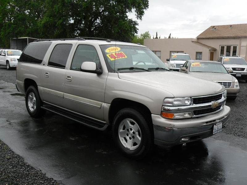 2004 chevrolet suburban 1500 lt 4wd 4dr suv in gridley ca. Black Bedroom Furniture Sets. Home Design Ideas