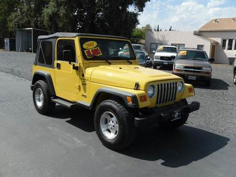 2001 Jeep Wrangler for sale in Gridley, CA