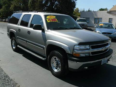 2002 Chevrolet Suburban for sale in Gridley, CA