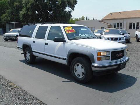 1999 GMC Suburban for sale in Gridley, CA