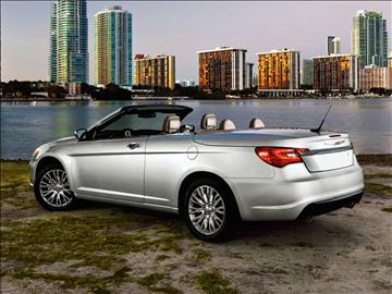 2011 Chrysler 200 Convertible for sale in Corona, CA