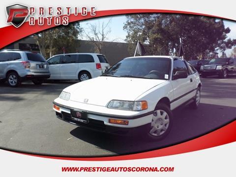 1991 Honda Civic CRX for sale in Corona, CA