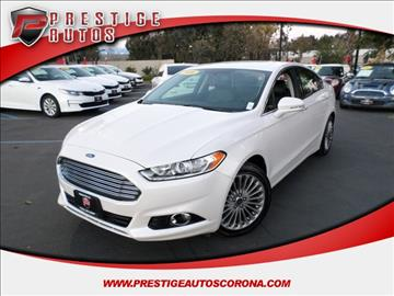 2016 Ford Fusion for sale in Corona, CA