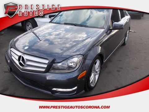 2013 Mercedes-Benz C-Class for sale in Corona, CA