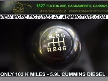 2006 Dodge Ram Pickup 3500 for sale in Sacramento, CA