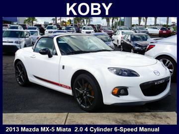 2013 Mazda MX-5 Miata for sale in Mobile, AL