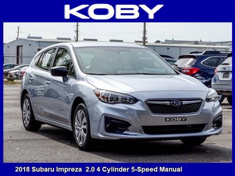 2018 Subaru Impreza for sale in Mobile, AL