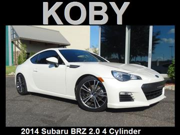 2014 Subaru Brz For Sale