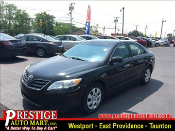 2010 Toyota Camry for sale in Taunton, MA