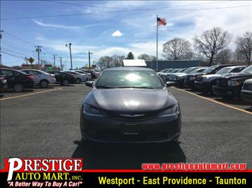 2015 Chrysler 200 for sale in Taunton, MA