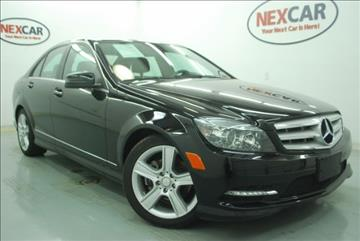 2011 Mercedes-Benz C-Class for sale in Spring, TX