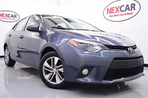 2014 Toyota Corolla for sale in Spring, TX