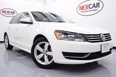 2012 Volkswagen Passat for sale in Spring, TX