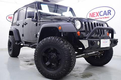 2008 Jeep Wrangler Unlimited for sale in Spring, TX