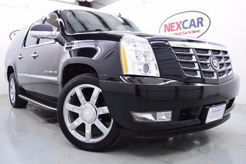 2013 Cadillac Escalade ESV for sale in Spring, TX