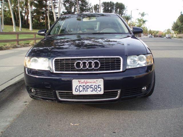2004 Audi A4 1 8t 4dr Sedan In Mission Viejo Capistrano