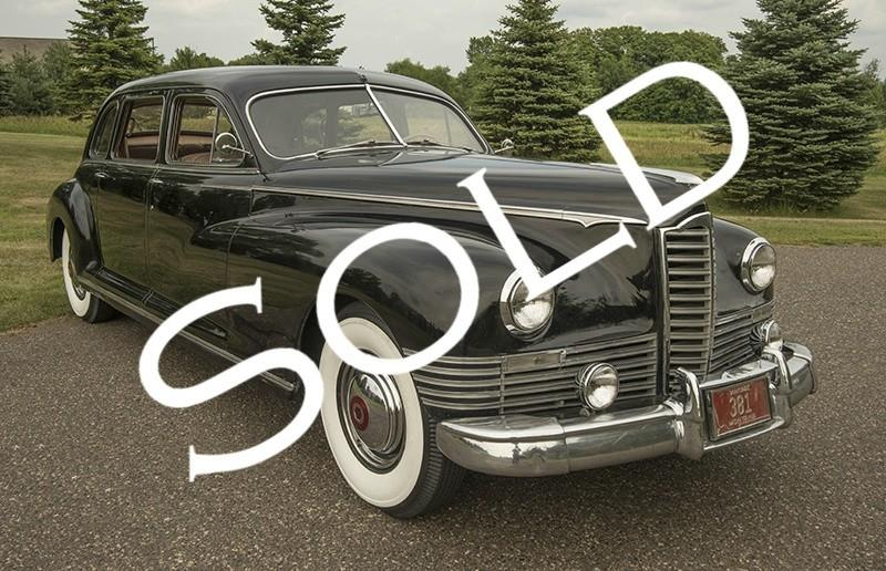 1947 Packard Custom Super 8 Clipper for sale in Rogers MN