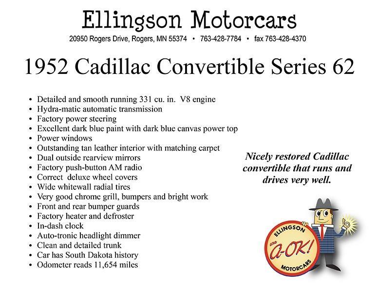 1952 Cadillac Series 62 36