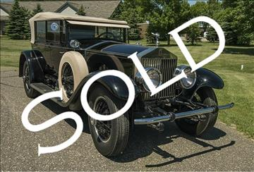 1928 Rolls-Royce Phantom One Springfield