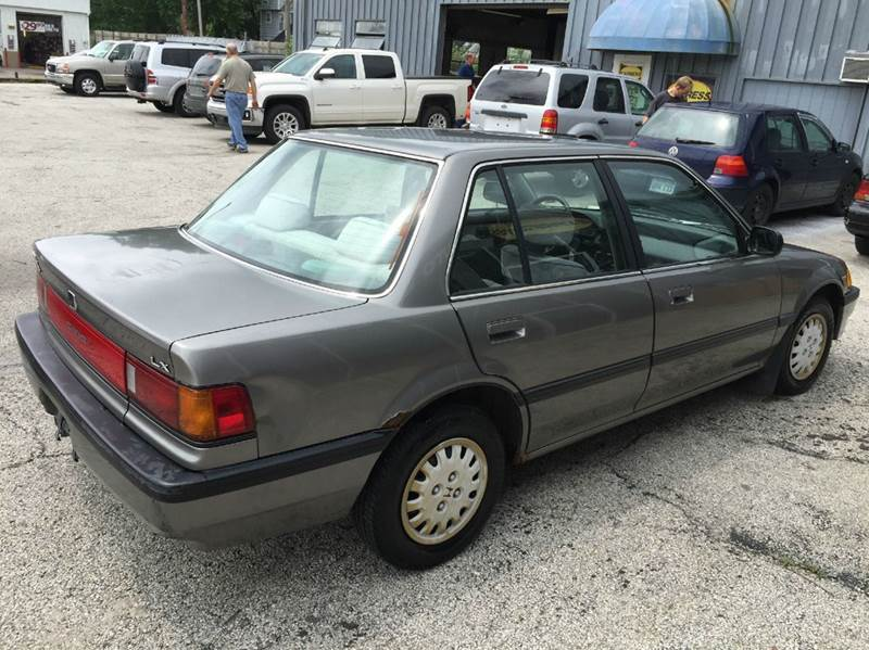 1989 honda civic lx 4dr sedan in kansas city mo no credit check auto sales. Black Bedroom Furniture Sets. Home Design Ideas