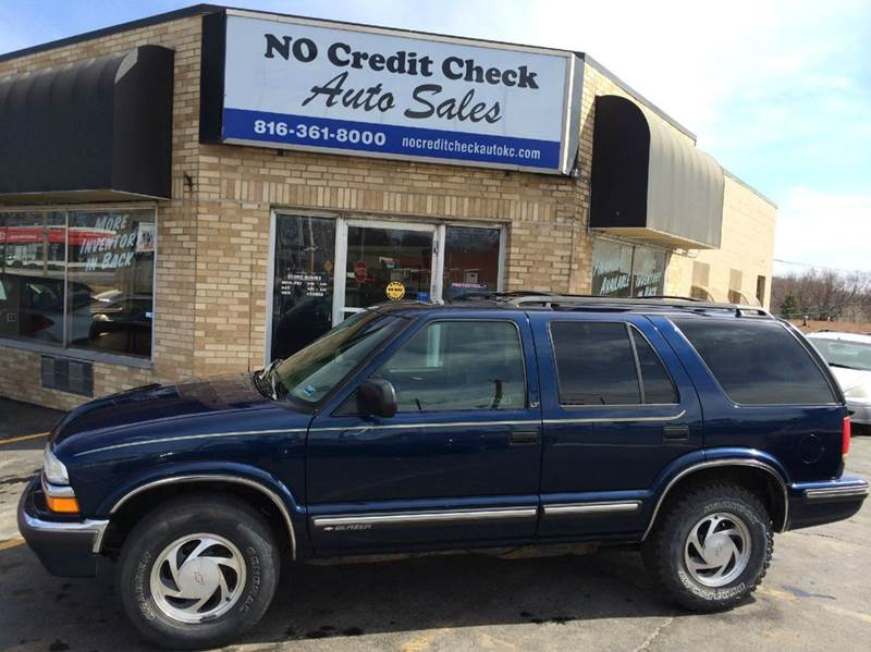 1999 chevrolet blazer lt 4dr 4wd suv in kansas city mo no credit check auto sales. Black Bedroom Furniture Sets. Home Design Ideas
