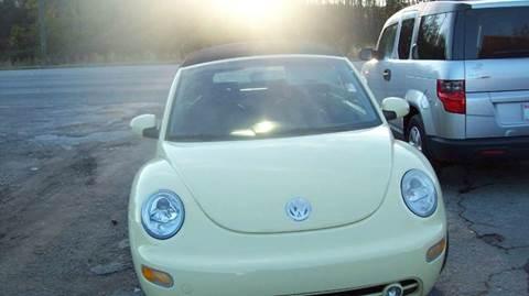 2003 Volkswagen New Beetle for sale in Macon, GA