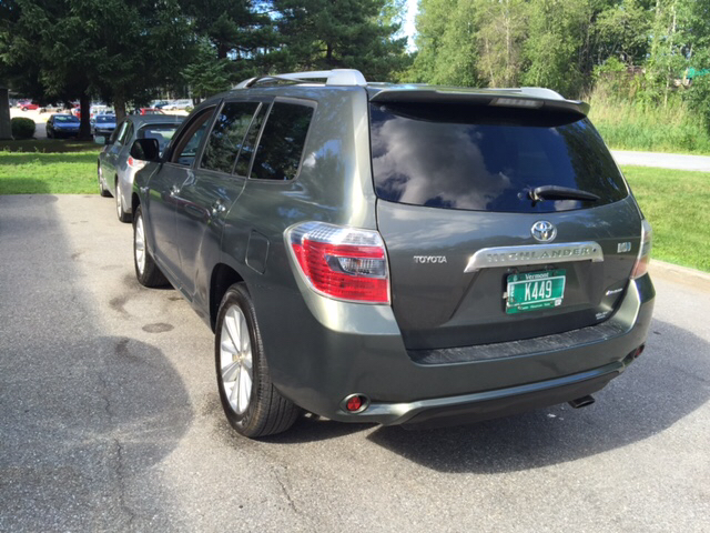 2008 toyota highlander hybrid limited awd 4dr suv in williston vt md motors llc. Black Bedroom Furniture Sets. Home Design Ideas