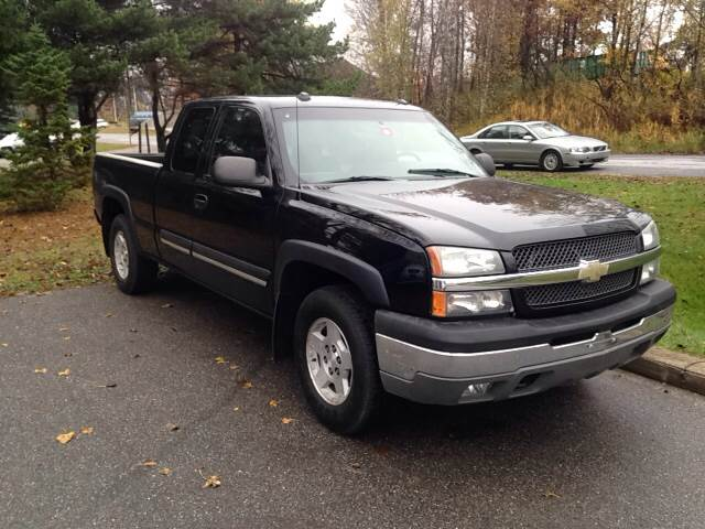 2004 chevrolet silverado 1500 lt 4dr extended cab 4wd lb in williston vt md motors llc. Black Bedroom Furniture Sets. Home Design Ideas