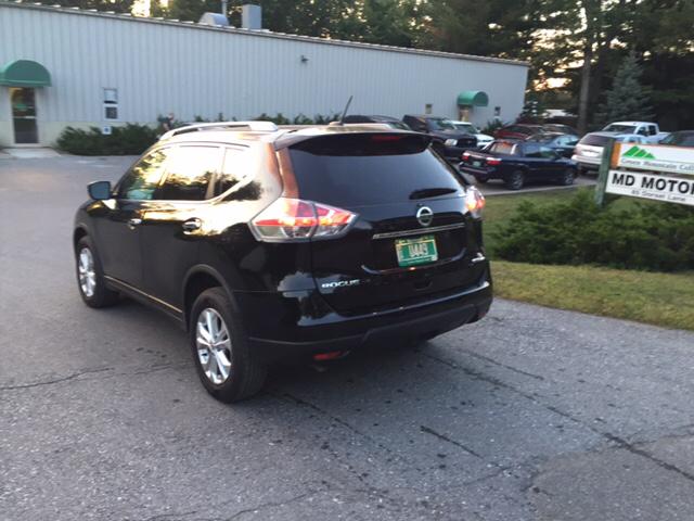 2016 Nissan Rogue SV AWD 4dr Crossover - Williston VT