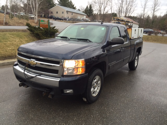 2008 chevrolet silverado 1500 lt1 4wd 4dr extended cab 5 8 ft sb in williston vt md motors llc. Black Bedroom Furniture Sets. Home Design Ideas