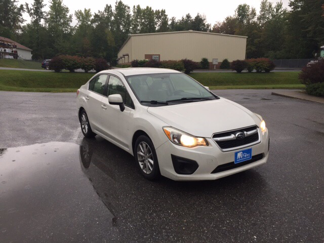 2012 Subaru Impreza AWD 2.0i Premium 4dr Sedan CVT - Williston VT