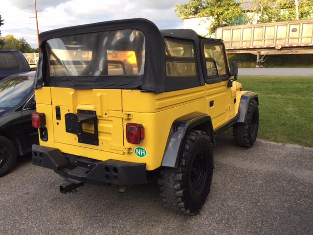 1991 Jeep Wrangler Base 2dr 4WD SUV - Williston VT