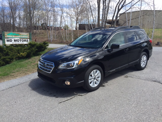 2016 subaru outback premium awd 4dr wagon in williston vt md motors llc. Black Bedroom Furniture Sets. Home Design Ideas