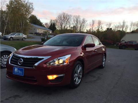 2014 Nissan Altima for sale in Williston, VT