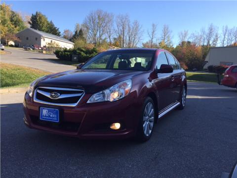 2012 Subaru Legacy for sale in Williston, VT