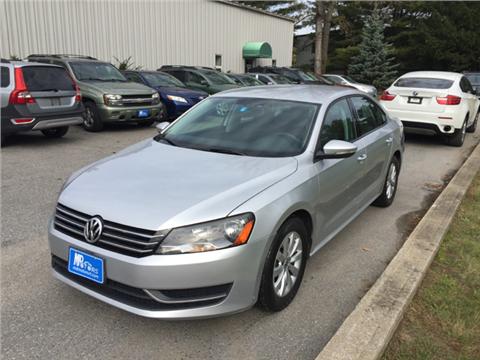 2012 Volkswagen Passat for sale in Williston, VT