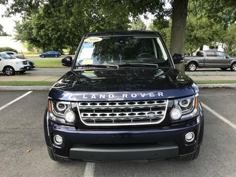 2016 Land Rover LR4 for sale in Malden, MA