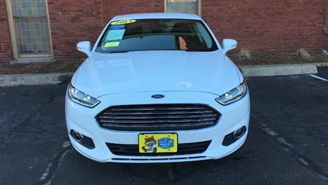 2013 Ford Fusion for sale in Malden MA