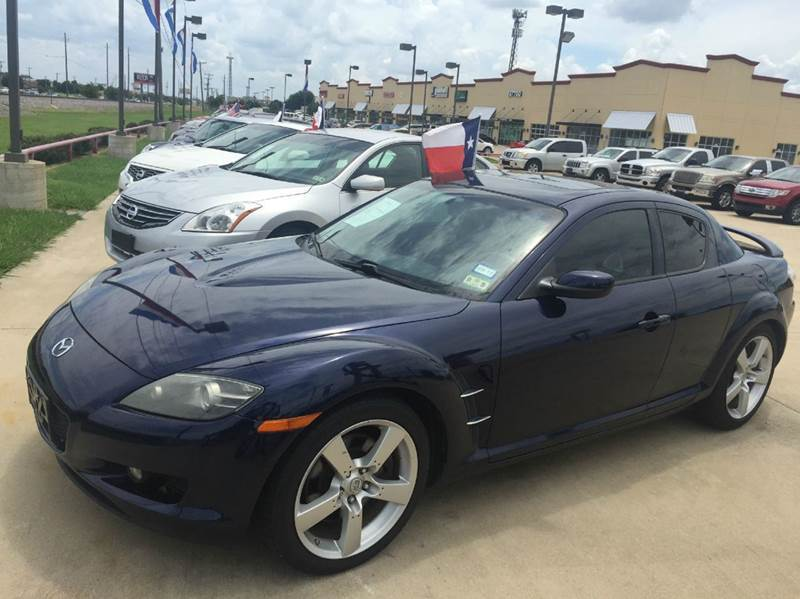 2007 mazda rx 8 grand touring 4dr coupe 1 3l 2rtr 6m in fort worth tx car depot. Black Bedroom Furniture Sets. Home Design Ideas
