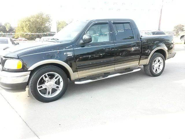 2003 ford f 150 lariat 4dr supercrew rwd styleside sb in fort worth tx car depot. Black Bedroom Furniture Sets. Home Design Ideas