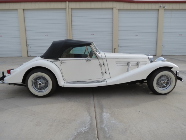2001 Classic Roadsters LTD 1936 Mercedes Benz 500K Replica