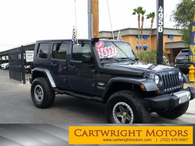 Jeep wrangler unlimited for sale in las vegas nv for Cartwright motors las vegas nv