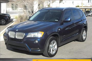2012 BMW X3 for sale in Las Vegas, NV