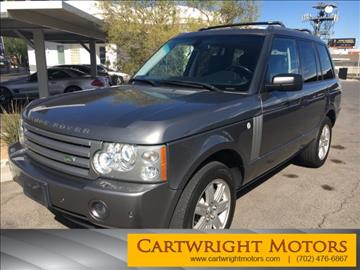 Land rover for sale nevada for Cartwright motors las vegas nv